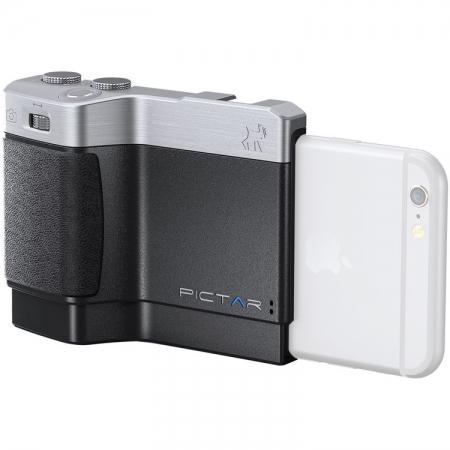 Miggo Pictar Camera - Grip pentru iPhone 4/4s/5/5s/5c/6/6s/SE/7