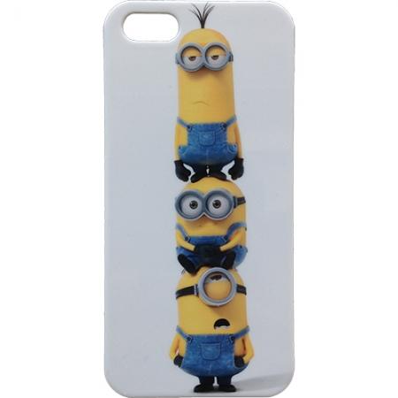 Minions Stack - capac spate pentru iPhone 5, iPhone 5S
