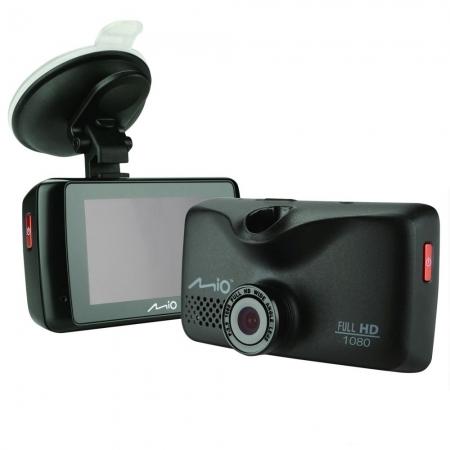 Mio MiVue 608 - Camera auto DVR, Negru