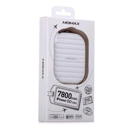 Momax iPower Go Mini Pro - Acumulator extern, 7800mAh, Alb