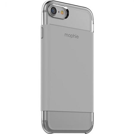 Mophie - Husa Capac Spate pentru Apple iPhone 7, Transparenta/ Gri