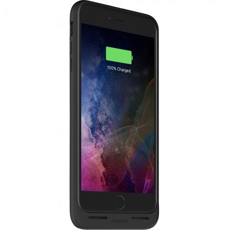 Mophie Juice Pack Air - Baterie externa, 2420 mAh + Husa, Negru pentru iPhone 7 Plus/ iPhone 8 Plus