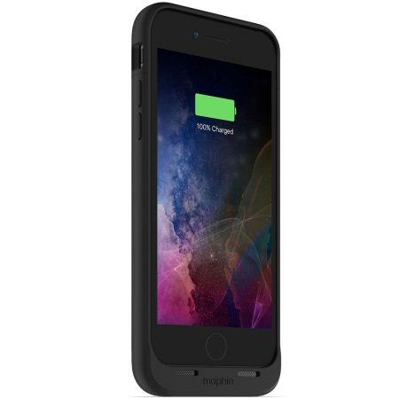 Mophie Juice Pack Air - Baterie externa, 2525 mAh + Husa, Negru pentru iPhone 7/ iPhone 8