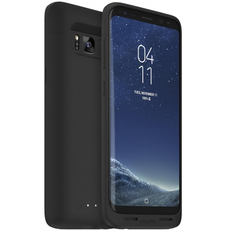 Mophie Juice Pack - Husa + Baterie Externa, 2950 mAh pentru Samsung Galaxy S8