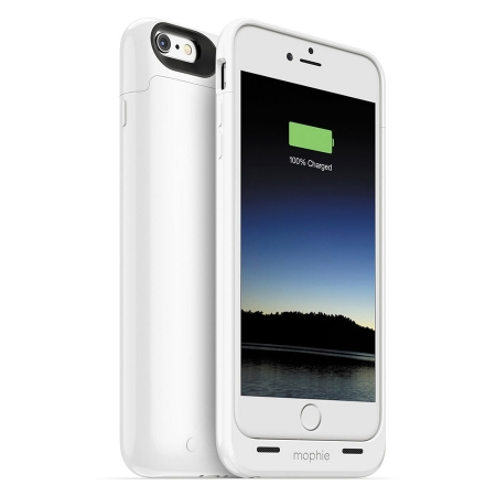 Mophie Juice Pack iPhone 6 Plus - Husa cu acumulator 2600mAh - alb