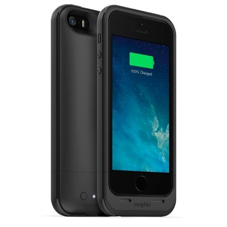 Mophie iPhone 5s / 5 juice pack plus - Husa cu acumulator 2100mAh - negru