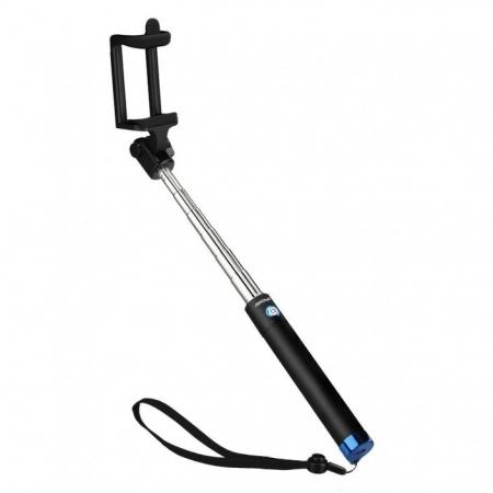 Mpow iSnap X - Selfie stick, Bluetooth, Albastru