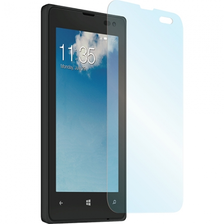 Muvit - Folie de protectie sticla securizata 0.33 mm pentru Nokia Lumia 435