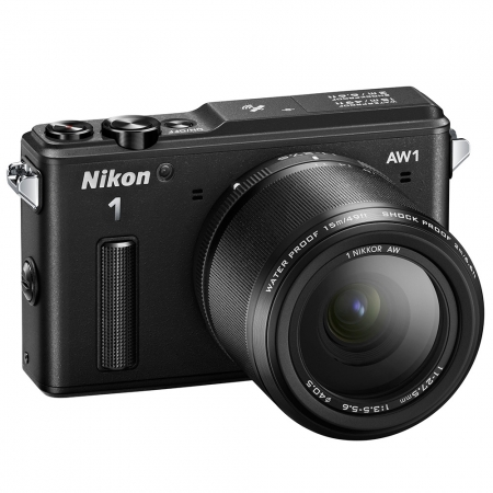 Nikon 1 AW1 negru kit 11-27.5mm f/3.5-5.6