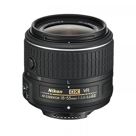 Nikon 18-55mm f/3.5-5.6G VR II AF-S DX - bulk
