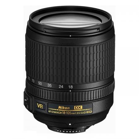 Nikon AF-S DX NIKKOR 18-105mm f/3.5-5.6G ED VR [ whitebox ]