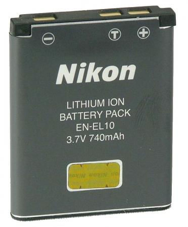 Nikon Acumulator original EN-EL10 for S200, S500, S510S, S700S RS6904982