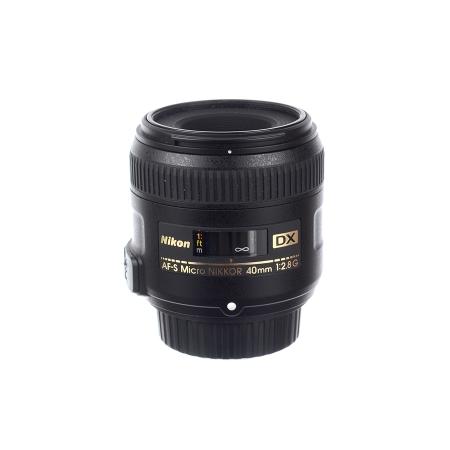 Nikon Af-s DX 40mm f/2.8 Micro - SH6758