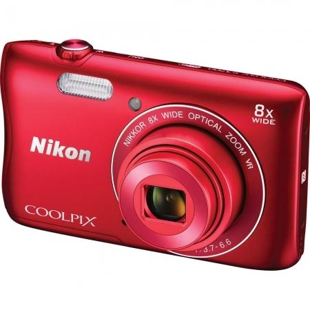 Nikon Coolpix S3700 rosu RS125017887