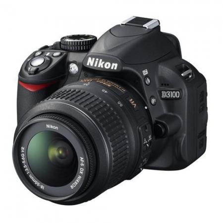 Nikon D3100 kit AF-s 18-55mm VR DX