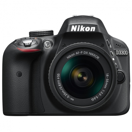 Nikon D3300 Kit AF-P 18-55mm DX , Negru