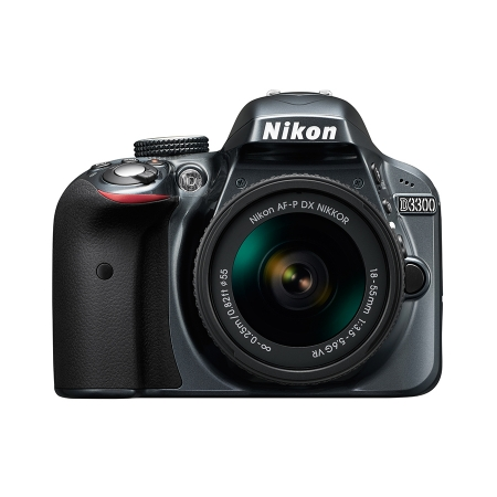 Nikon D3300 Kit AF-P 18-55mm VR Gri RS125034129-1