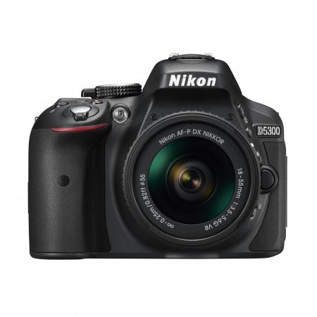 Nikon D5300 Kit AF-P 18-55mm VR  Negru RS125026088-3