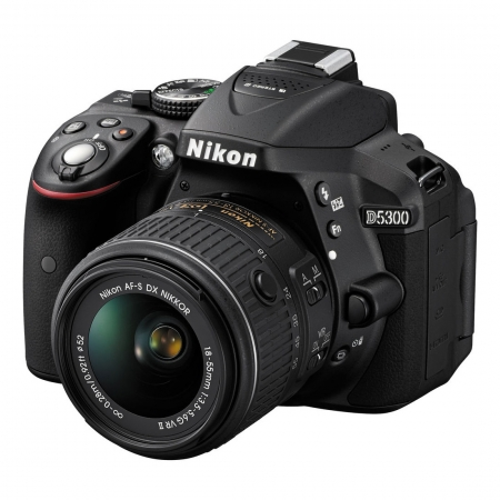 Nikon D5300 kit 18-55mm f/3.5-5.6G VR II negru