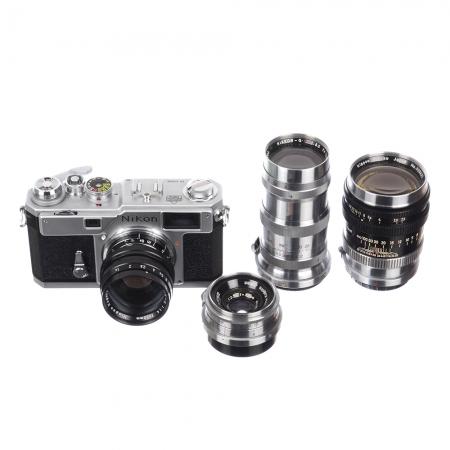 Nikon S3 Limited Edition + 4 obiective Nikon + Geanta Nikon - SH6679