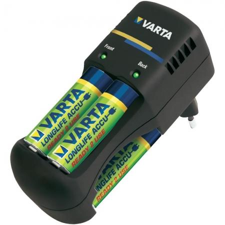 Nikon Varta Pocket Charger + 4 AA 2100mA