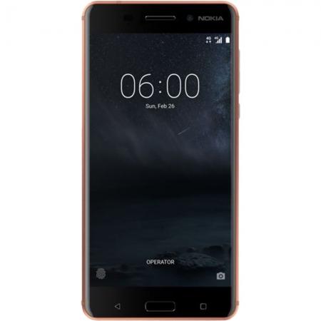 Nokia 6 - 5.5'', Dual Sim, Octa-Core, 64GB, 4GB RAM, 4G - Maro