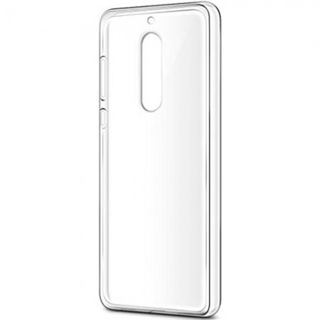 Nokia - Husa capac spate pentru Nokia 8, Transparent