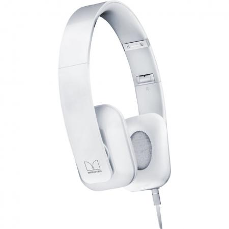 Nokia WH-930 - casti stereo cu fir si microfon - alb