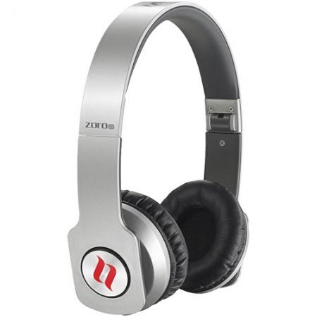 Noontec Zoro - Casti Audio Stereo Over Ear, Argintiu