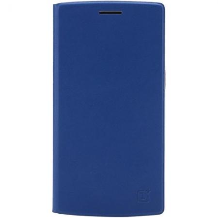 ONEPLUS - Husa Flip ONE PLUS ONE - albastru