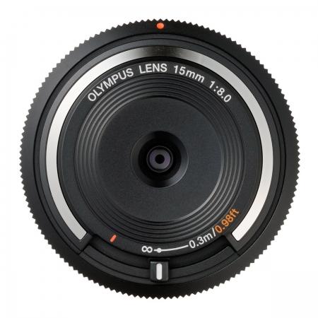 Olympus Body Cap Lens 15mm f8.0 negru RS125002908-1