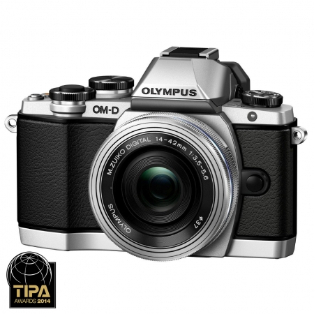 Olympus OM-D E-M10 14-42 EZ Kit Silver - RS125010764