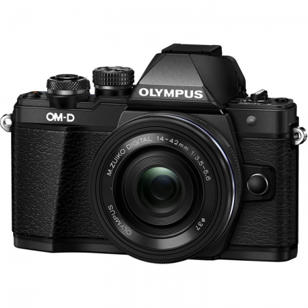 Olympus OM-D E-M10 Mark II 14-42 EZ Kit Black/Black RS125020462-1