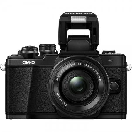 Olympus OM-D E-M10 Mark II black + EZ-M1442 IIR black