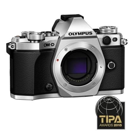 Olympus OM-D E-M5 Mark II body - argintiu