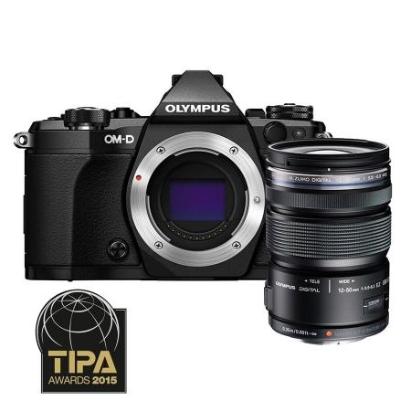 Olympus OM-D E-M5 Mark II kit 12-50 - negru / negru