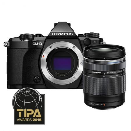 Olympus OM-D E-M5 Mark II kit 14-150 - negru / negru