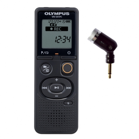 Olympus VN-541PC & ME52 - Reportofon cu microfon unidirectional ME52