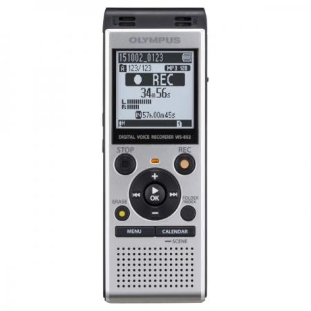 Olympus WS-852 - Reportofon cu memorie interna 4Gb, Argintiu