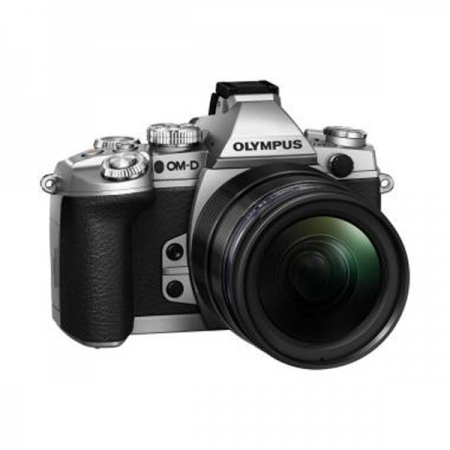 Olympus mirrorless OM-D E-M1 argintiu kit M.ZUIKO DIGITAL 12-40mm