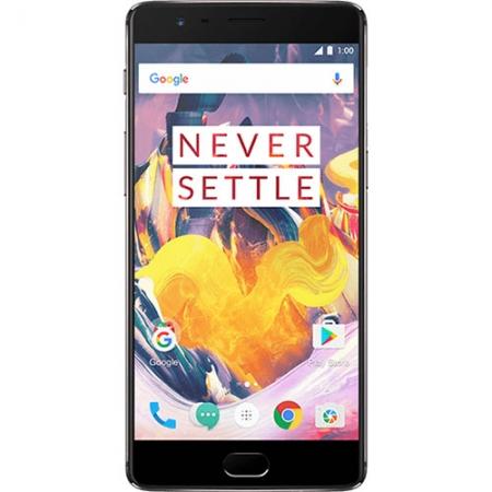 OnePlus 3T A3010 - 5.5'', Dual Sim, Quad-core, 6GB RAM, 128GB, 4G - Negru/Auriu