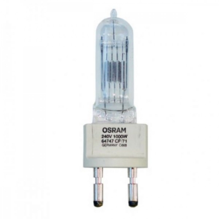 Osram #64747 - bec halogem 1000W 230/240V G22