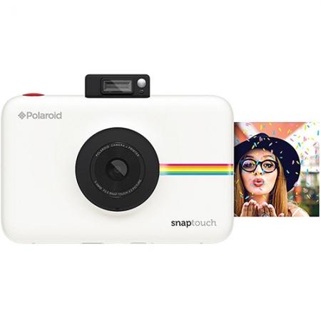POLAROID Camera Foto Instant Snap Touch cu Hartie Foto 2x3'' Alb RS125032693-1