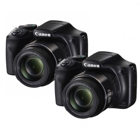 Pachet promo 2 x Canon PowerShot SX540 HS negru