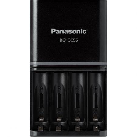 Panasonic Eneloop Incarcator + 4 acumulatori Eneloop AA 2500mAh