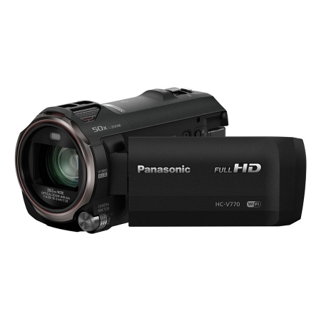 Panasonic HC-V770 - Camera video Zoom optic 20x - RS125017109-1