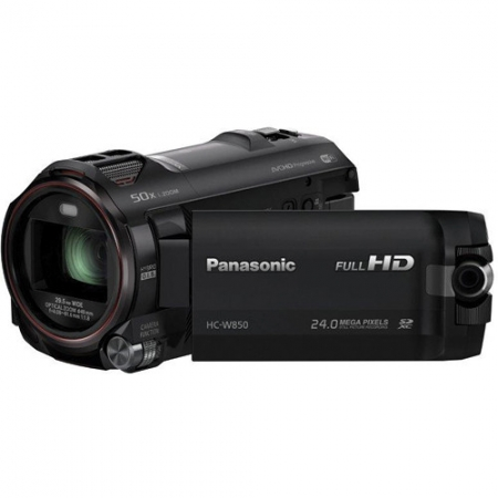 Panasonic HC-W850 - camera video cu 2 obiective, Full HD, Wi-Fi, NFC