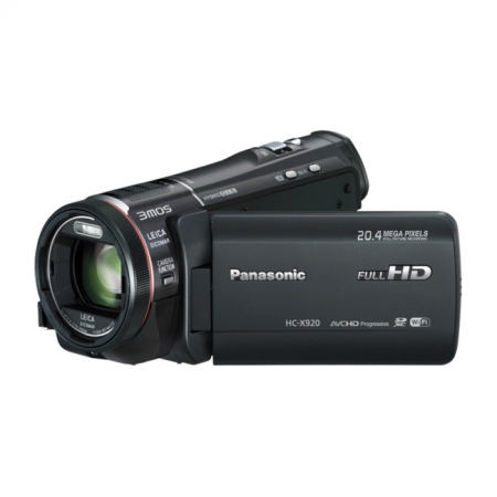 Panasonic HC-X920EP-K Negru - camera video Full HD, 3MOS BSI, zoom optic 12X, Wi-Fi
