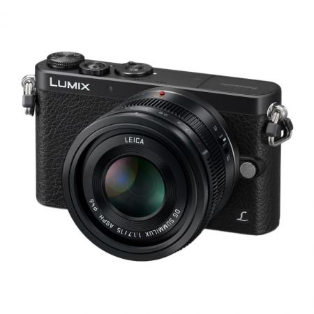 Panasonic LUMIX DMC-GM1L Negru kit 15mm f/1.7 ASPH