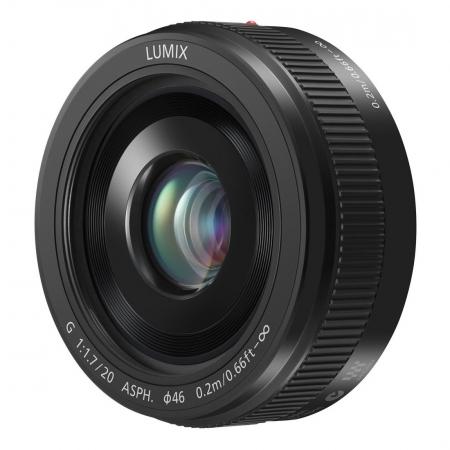 Panasonic LUMIX G 20mm f/1.7 II  ASPH - pentru montura Micro 4/3